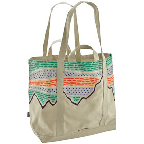 Patagonia All Day Bolsa Tote, solar rays '73/bleached stone